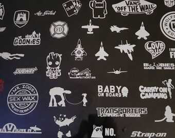 Vinyl stickers pick n mix
