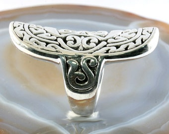 Ring, 925 sterling silver, electroforming - 3112