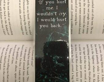 The Cruel Prince Bookmark (If you hurt me...)