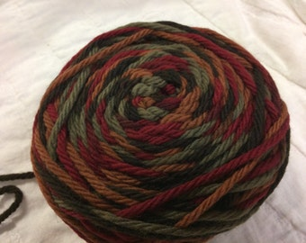 Yarn Knit Picks Wool of the Andes Bulky Redwood Forest