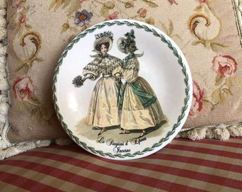 French Country Victorian Ladies Vintage Seasons