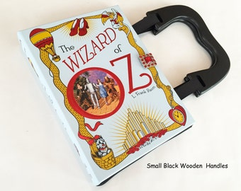Wizard of Oz Repurposed Book Purse - Wizard of Oz Collector Gift - Emerald City of OZ Book Clutch - Purse from a book
