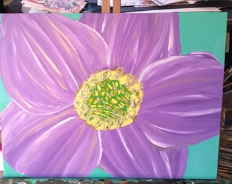 Summertime Purple Hellebore