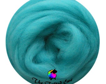 Needle Felting Wool Roving / ES21 Atlantis Lost Carded Wool Sliver