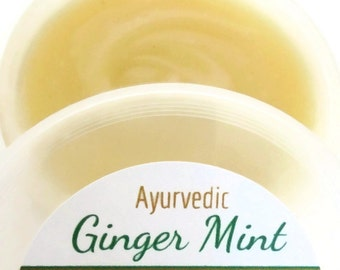 Ayurvedic- Ginger Mint Hair & Scalp Fertilizer *For Scalp Psoriasis, Dandruff, *Infused w/ Bhringraj and Neem Oil for Superior Growth