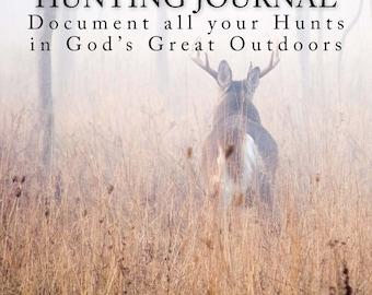 The Deer Shepherd Hunting Journal Outdoor And Hunting Journal Log Book