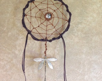 Catches dreams. Mandala. Dragonfly.