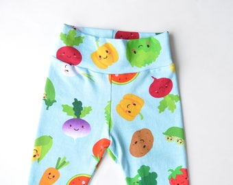 Leggings   Fruits & Veggies   Baby - Toddler leggings   Premie - 2t/3t