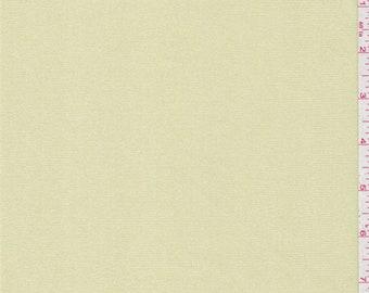 Golden Beige Rib Knit, Fabric By The Yard
