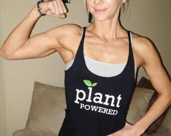 "Women's ""Plant Powered"" Tank Top"