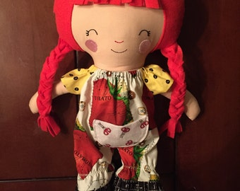 Sewing Romper doll