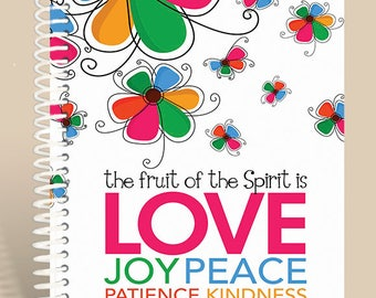 Fruit of the Spirit BRIGHTS - Personalized Prayer Journal