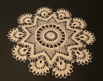 Cluster Crochet Doily