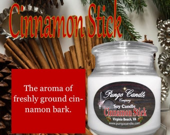 Cinnamon Stick Scented Soy Jar Candle (16 oz.)