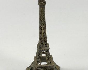 Vintage Brass Miniature Eiffel Tower