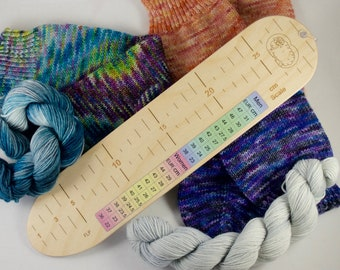 Socker's Rule, knitting tool, sock knitting