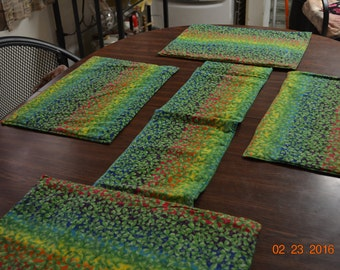 St Patricks Day Table Runner & Placemats