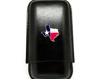 State of Texas Cigar Case – Color
