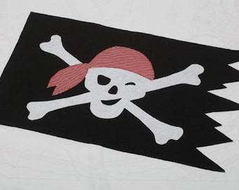 PATTERN: Jolly Roger Pirate Flag