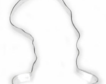 Large Floppy Top Hat Cat in the Hat Cookie Cutter 5.5''