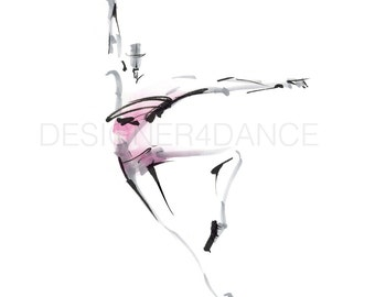 """Dance Digital Image Titled """"Abstract Piqué"""". Download Dance Art. For dancers, choreographers, teachers, and studio owners."""