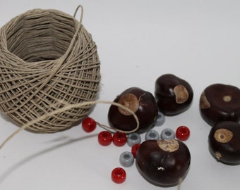 Make your own Buckeye Necklace Kit