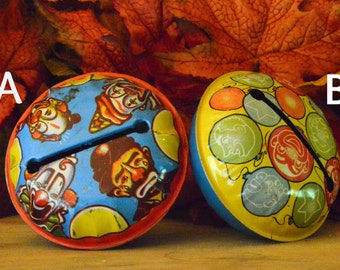 1940s Vintage Tin Noisemakers (2 Available)