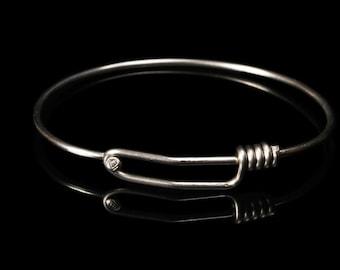Bike Spoke Bracelets  -  Handmade from Stainless Steel Bicycle Spokes