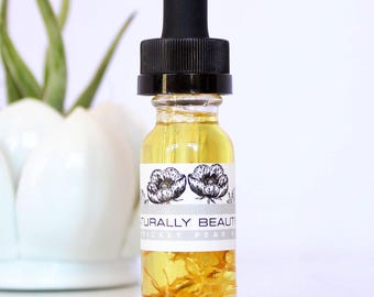 Prickly Pear Face Oil - Serum - Natural Skin Care Product - Facial Serum - Moisturizer - Face Oil - Skincare - Facial Oil - Organic