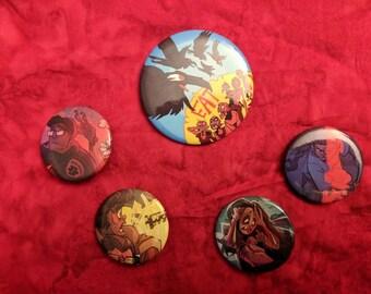 Umbagog Buttons Set 1