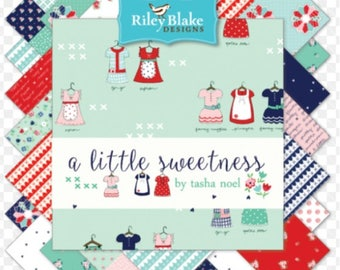 """A Little Sweetness 10"""" Stacker, Tasha Noel for Riley Blake Designs"""