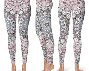Mandala Yoga Leggings, Yoga Tights, Yoga Pants, Womens Leggings, Printed Leggings, Stretch Pants