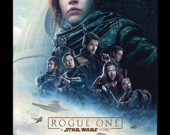 Rogue One a Star Wars Story - 11x17 Framed Movie Poster