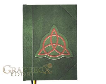 Fan-made Book of Shadows Charmed inspired personalized hardcover journal notebook