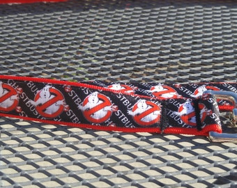 Ghostbusters inspired dog collar