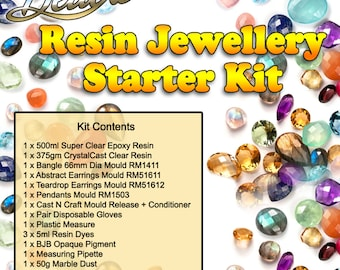 Deluxe Resin Jewellery Kit