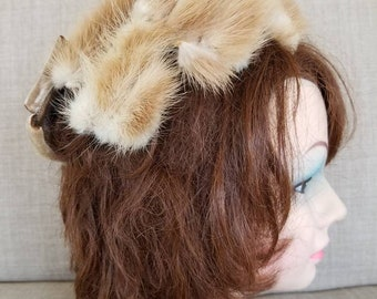 Vintage Brown Mink Hat Carson Pirie Scott & Co.
