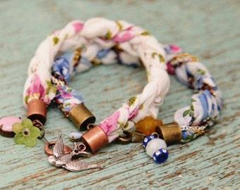 Boho layering bracelet
