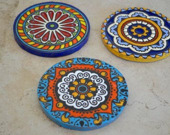 3-pieces coasters