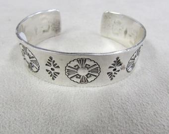 Skyking Sterling Silver Cuff Bracelet