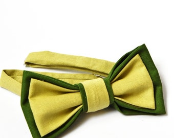 Men's bowtie completes the Father/Daughter and Father/Son Style