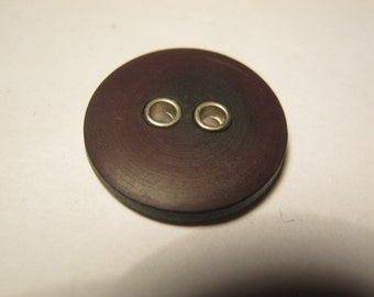 20 pieces of mounting buttons with metasolve, burgundy dark, diameter approx. 17 mm, new, Button manufactory