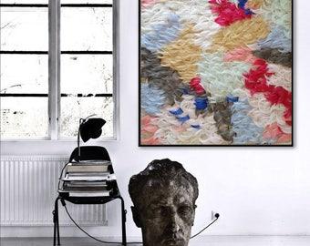 TAPESTRY WALL HANGING N.1 fiber art home gallery