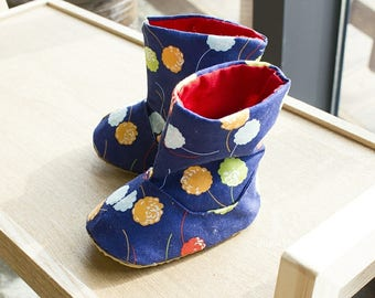 717 Connor Baby Boots PDF Sewing Pattern