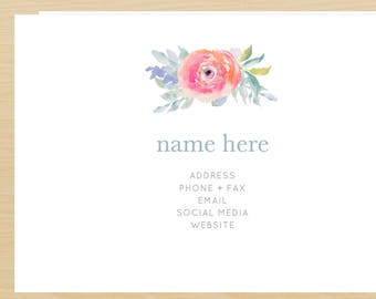 The Lillian Business Card