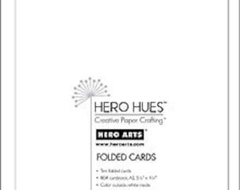 Hero Arts Snow White Folded Cards PS566