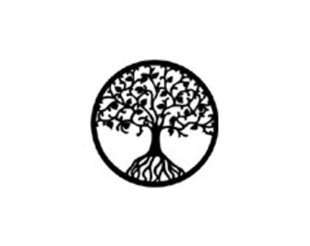 micro mini Tree of Life Rubber Stamp