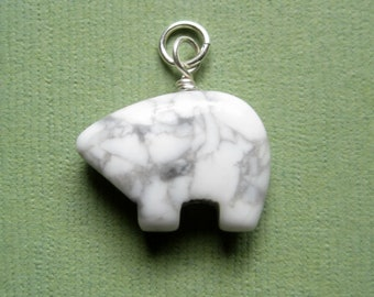 Polar Bear 3D Pendant or Charm