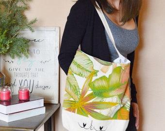 Boho beach crossbody bag - short strap bohemian bag - womens bag - everyday bag - personalized beach bag - hippie slouch bag - sling bag