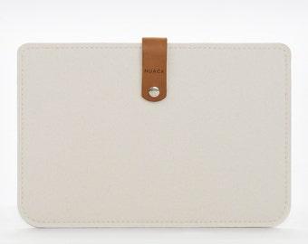 iPad Mini Cover - iPad Mini Sleeve - iPad Mini Case - Felt Leather Case